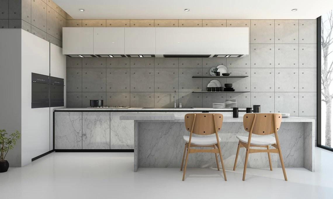 I colori pi adatti per completare la tua cucina bianca o grigia  CASAfacile