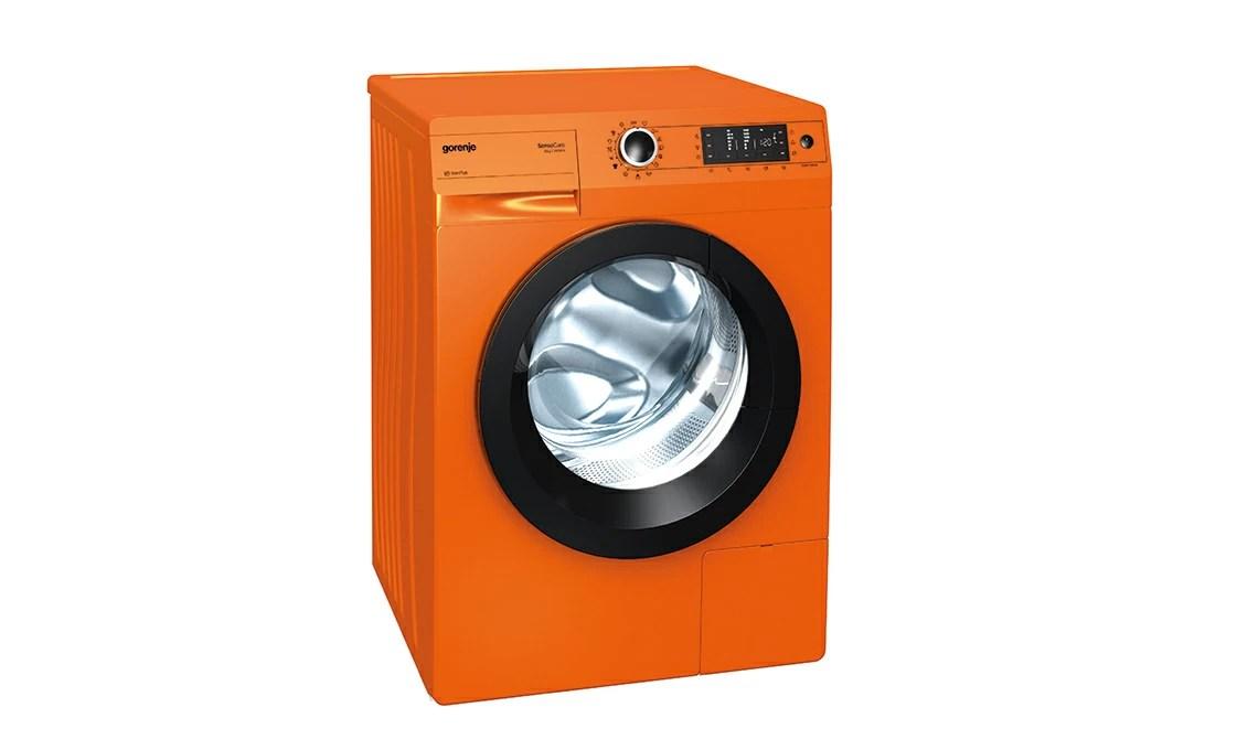 Lavatrice arancione  CASAfacile