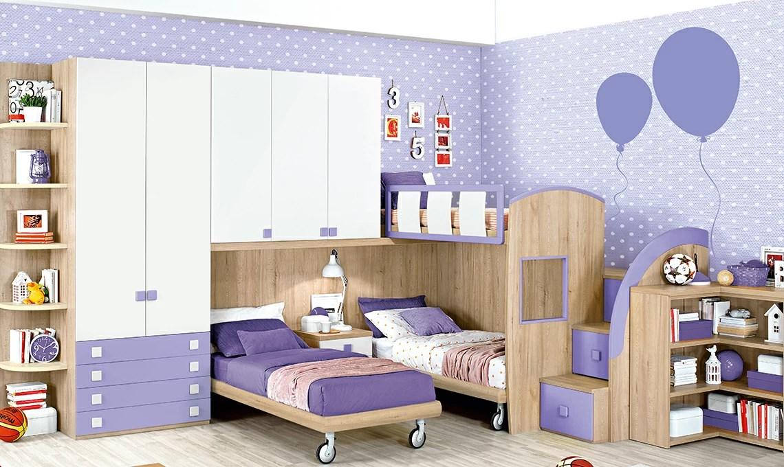 Cameretta per 3 figli con i soppalchi ognuno ha il suo spazio  CASAfacile