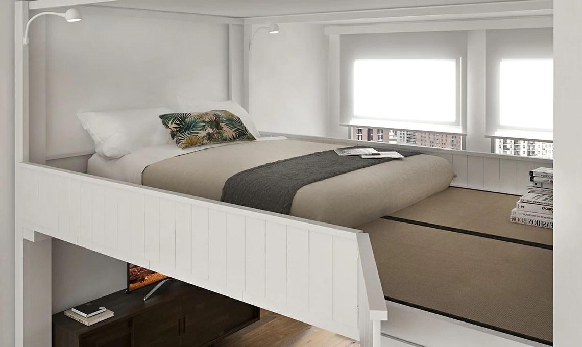 Il letto a scomparsa che sale sul soffitto  CasaFacile
