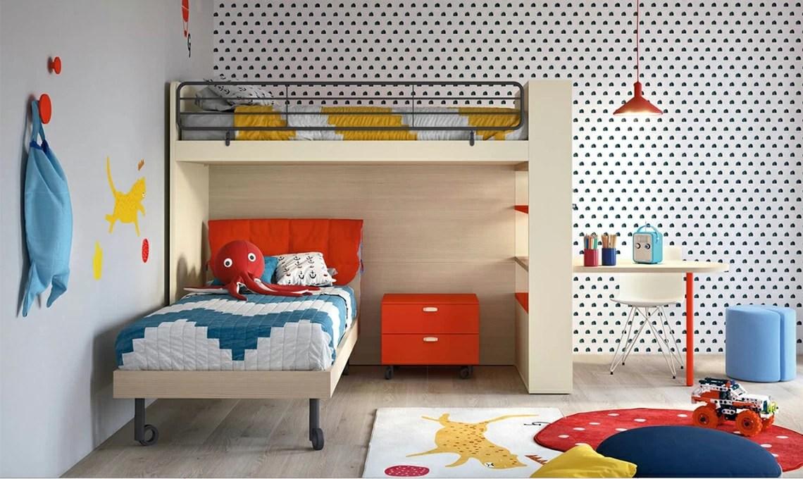 Wallpaper for the boys' room is very versatile. 10 Carte Da Parati Di Design Per La Cameretta Casafacile