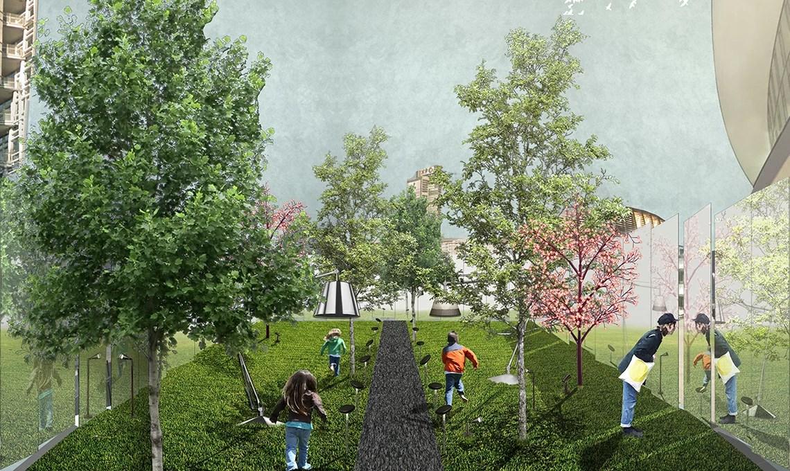 Per il Fuorisalone un giardino segreto in piazza Gae