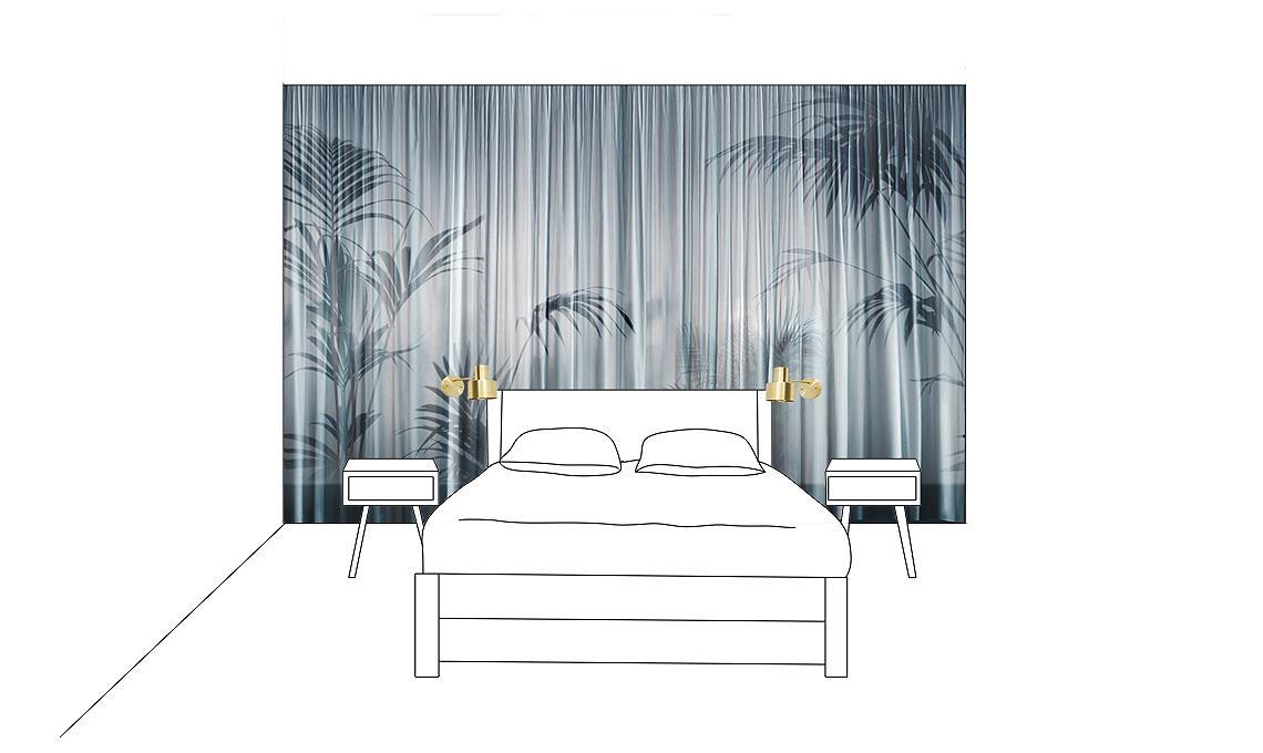 Come decorare la parete dietro al letto  CASAfacile