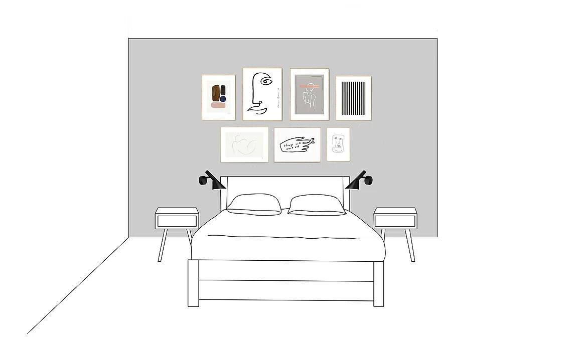 In qualsiasi posizione e con qualsiasi funzione si scelga di inserire una mensola in camera da letto la sua utilità risulterà sempre massima. Come Decorare La Parete Dietro Al Letto Casafacile