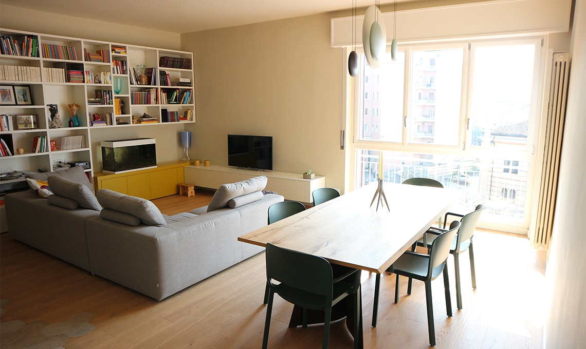 Un appartamento dallo spirito moderno  CASAfacile