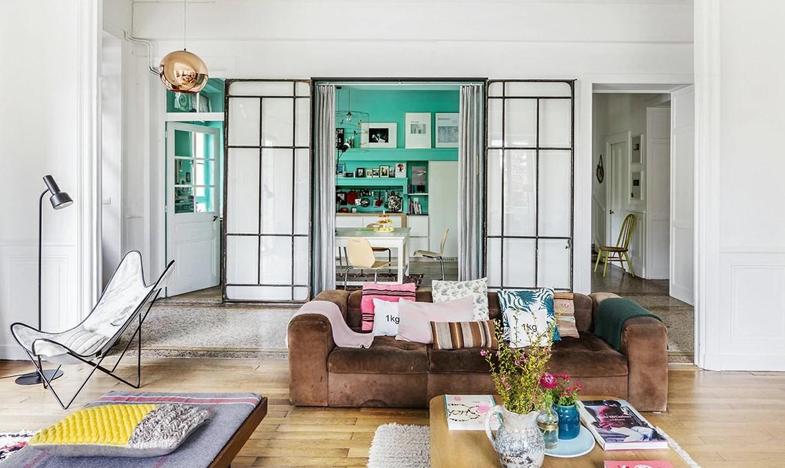 Pareti colorate grandi vetrate e il giusto mix tra design e vintage  CASAfacile