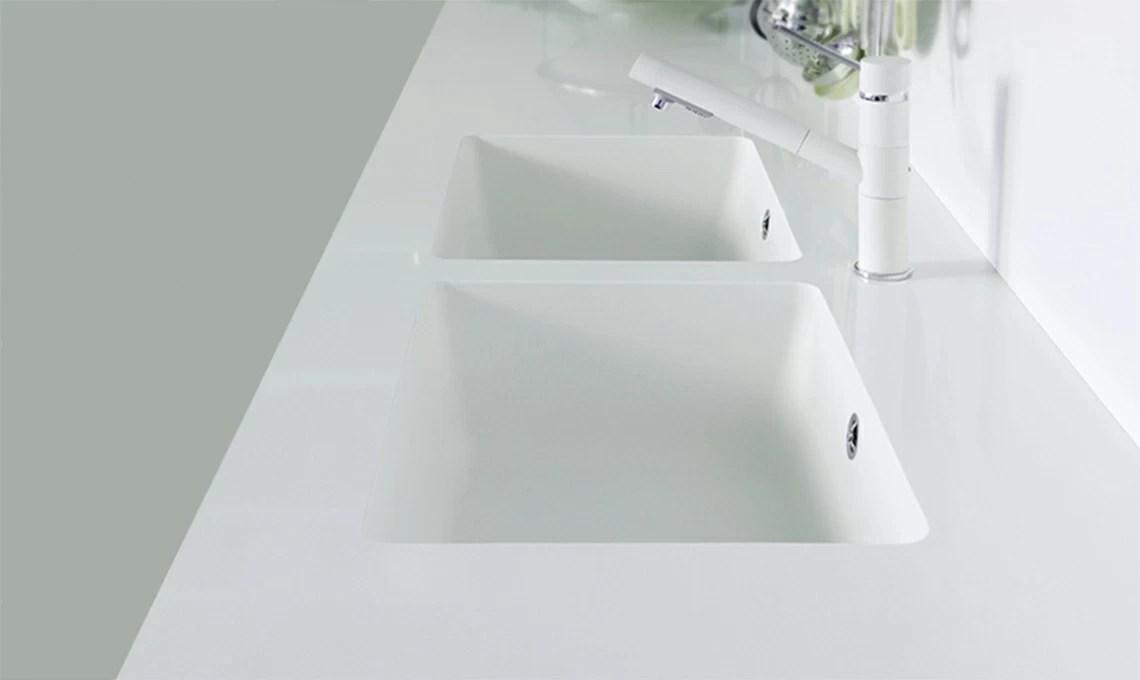 Cucina lavelli integrati nel top  CASAfacile