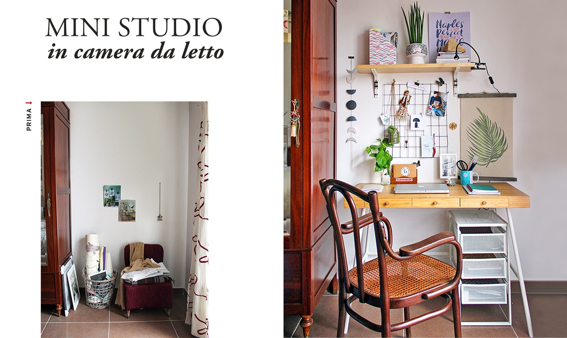 Come creare un mini studio in camera da letto  CASAfacile