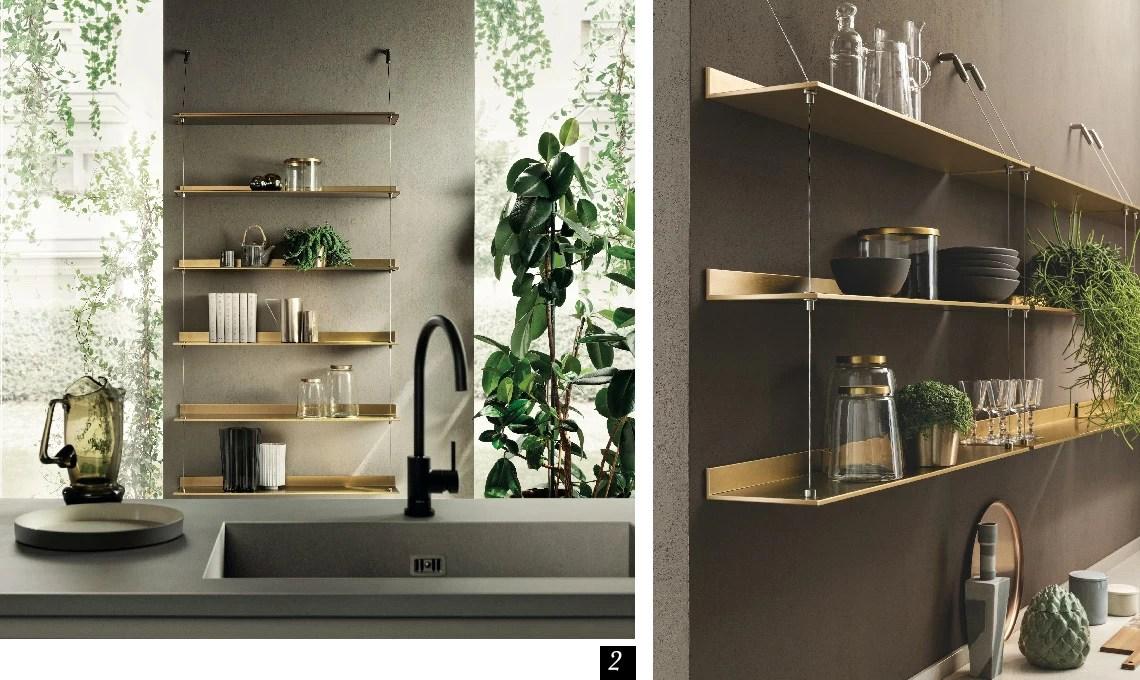 47205 prodotti per centro convenienza cucine moderne. Arreda La Cucina Con Mensole E Pensili A Giorno Casafacile