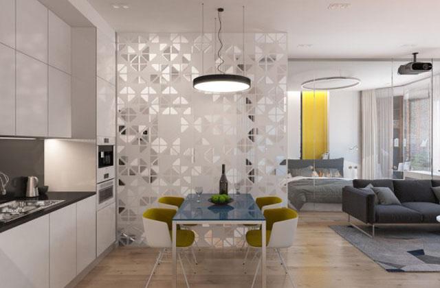 Ottimizzare i piccoli spazi con le pareti di vetro