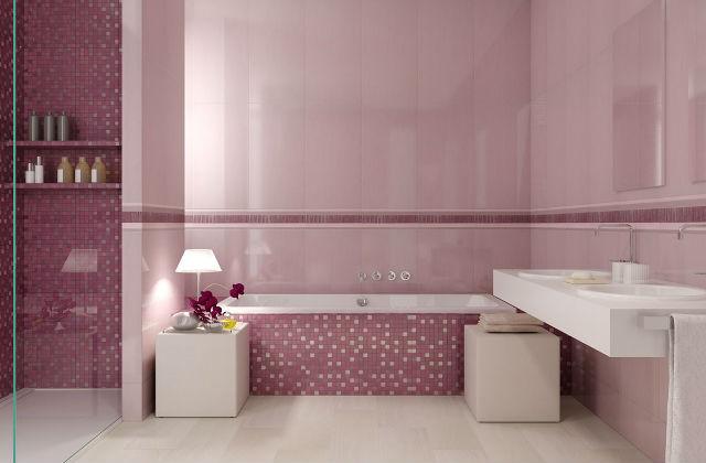 Larredo di un bagno rosa romanticismo ma non solo