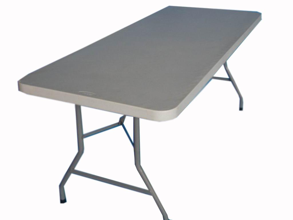 Alquileres de mesas plegables de plstico