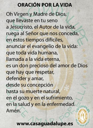 Oración por la vida