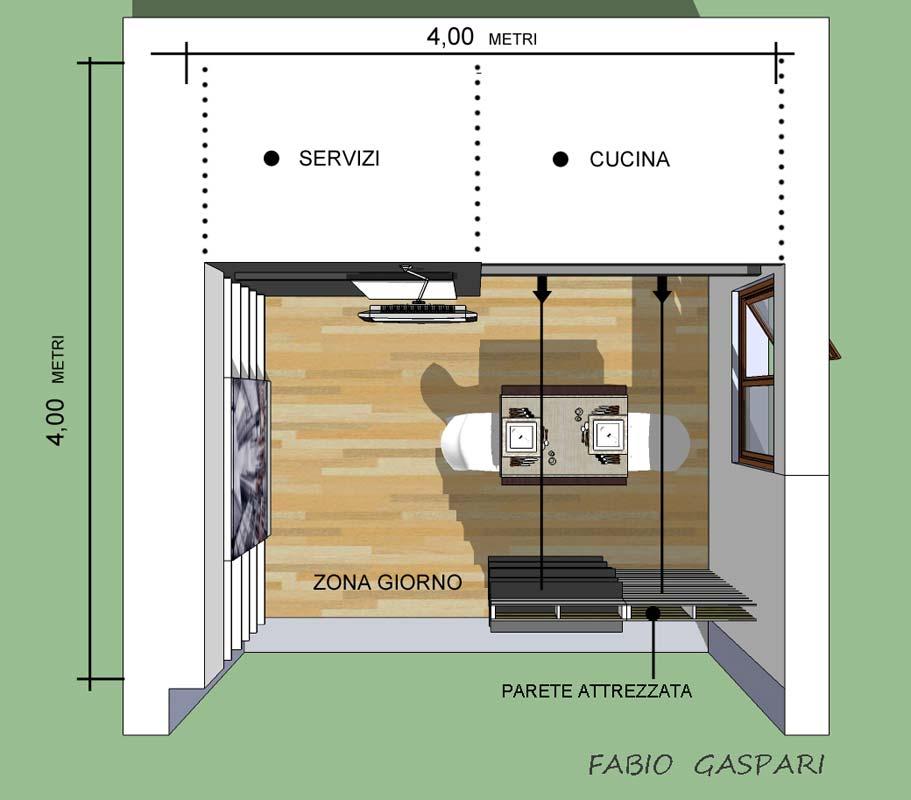 Progetto per mini casa