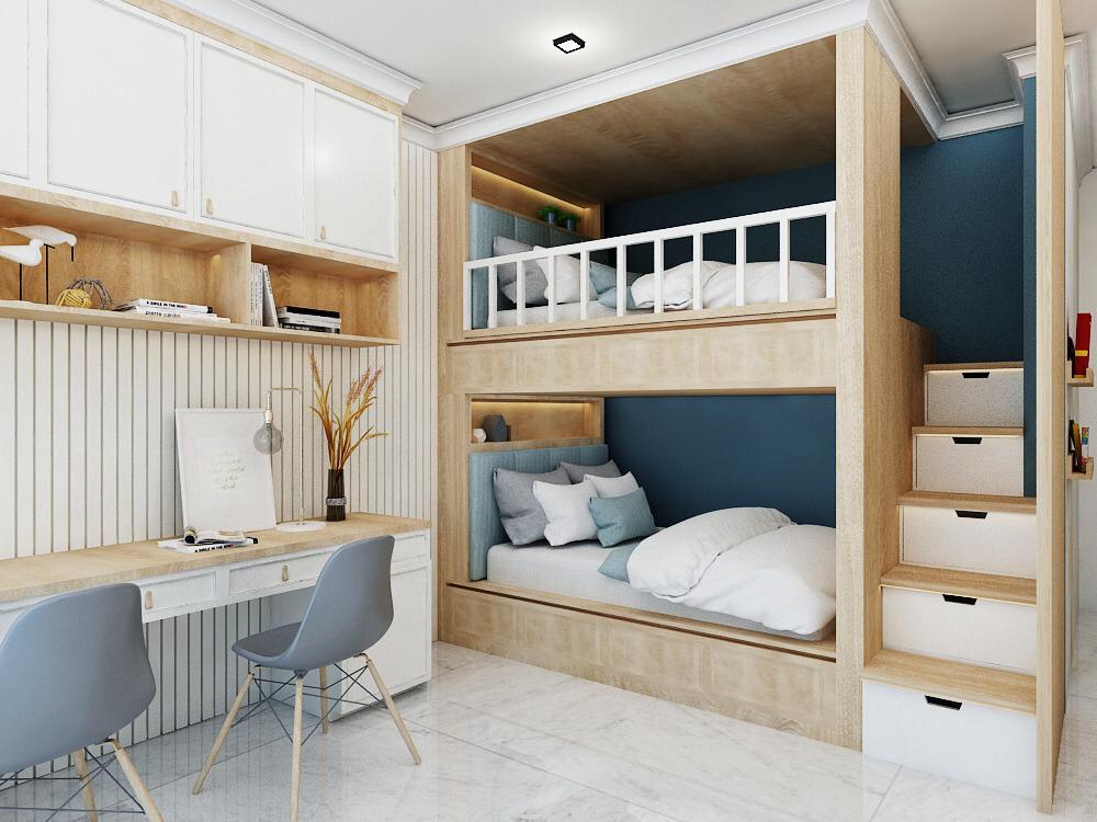 Desain Kamar Tempat Tidur Tingkat