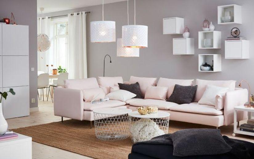 Furnitur multifungsi di ruang tamu minimalis
