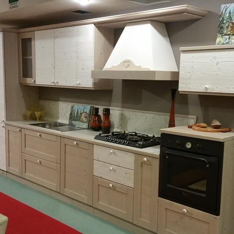 Cucina completa in abete massello - Casa Ingross