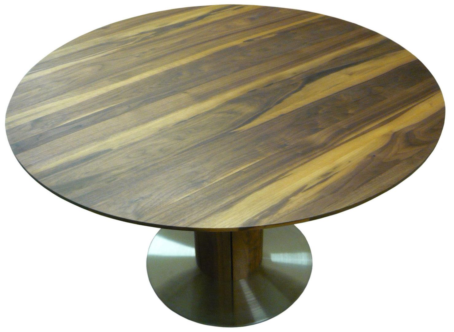 Tische rund und ausziehbar  runde tische ausziehbar  runder ausziehbarer Esstisch