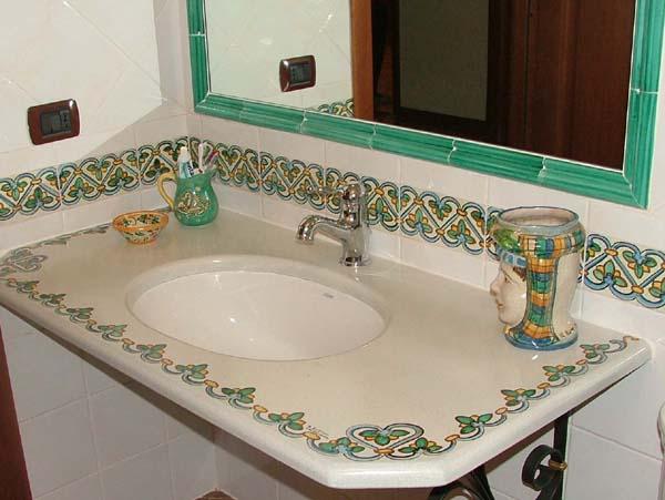 Ceramiche Il Rustico Caltagirone  Casa Italia