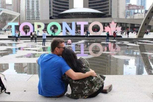 Letreiro Principal Toronto