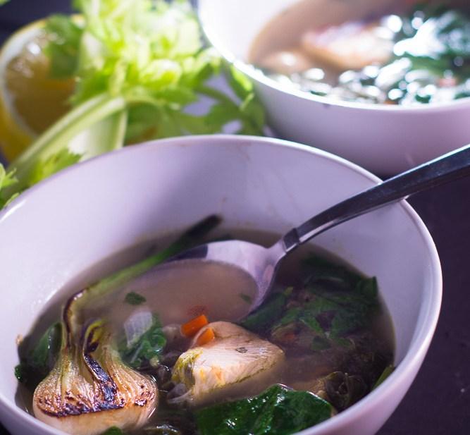 Easy Homemade Chicken Soup