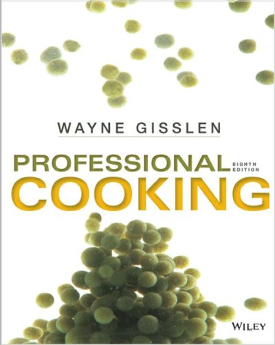 Professional Cooking 8
