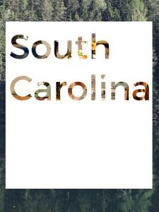 South Carolina Menu