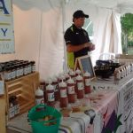 Sweet Carol Swine Spices, Farmer's market at Casa Larga Vineyards