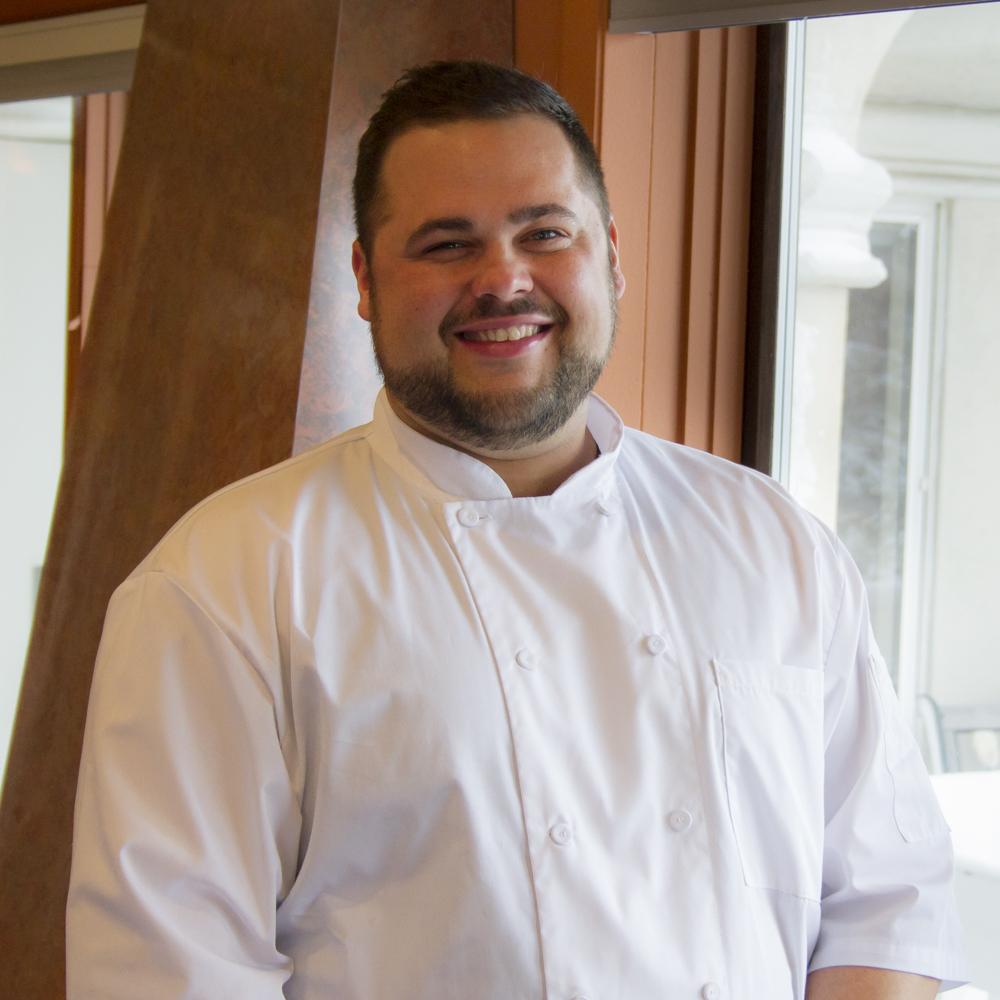 Chef Scott at Casa Larga Vineyards