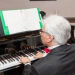 Piano Player at Ice Wine and Culinary Festival at Casa Larga Vineyards