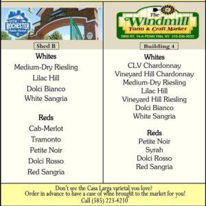public market and windmill wine list