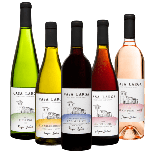 Classic Impressions, Varying Wines at Casa Larga Vineyards