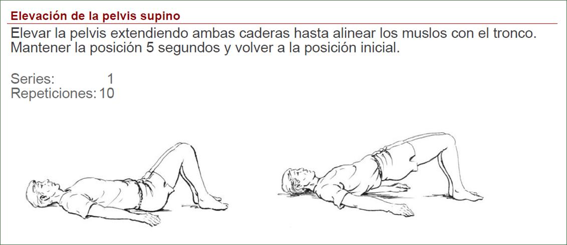 prótesis de Cadera - ejercicios