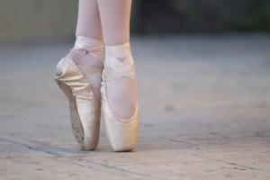 Problemas de tobillo en los bailarines