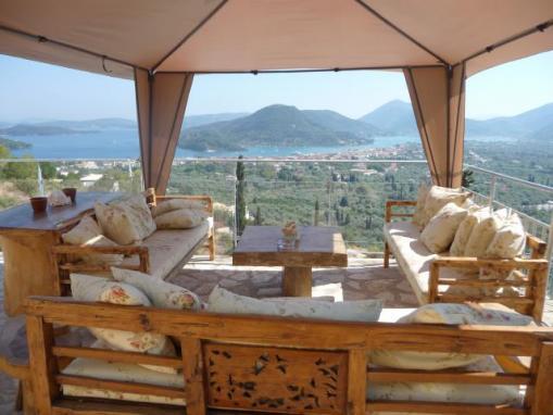 lefkada Dhalia Villa con piscina ville in affito per la tua vacanza su casalefkadait