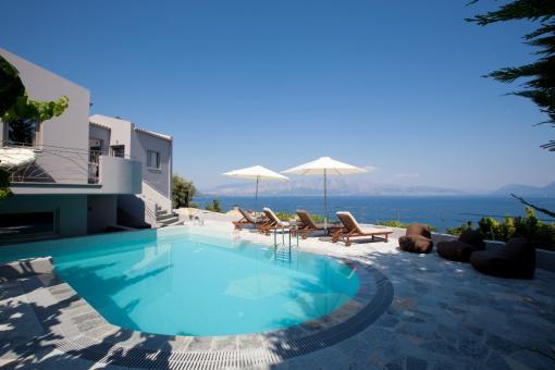 lefkada 4 Nuove indipendenti ville con piscina vicino a Nidri ville in affito per la tua vacanza