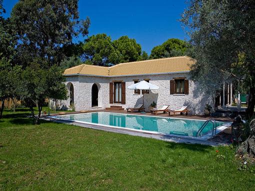 lefkada Villa due camere con veranda giardino piscina e