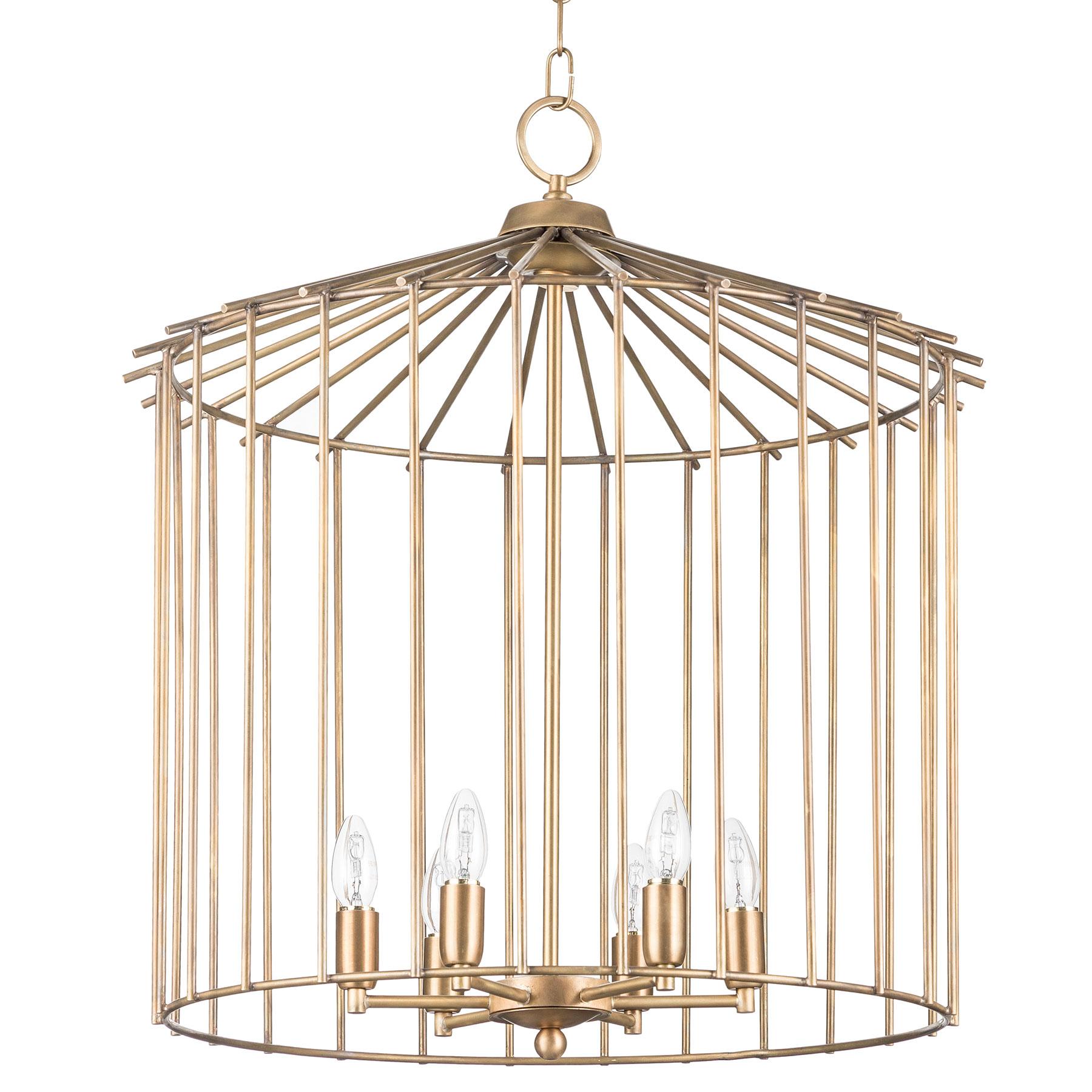 exclusive cage chandelier handmade