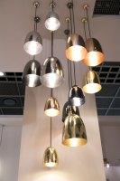 Kleine Design Pendelleuchte STANLEY, Kupfer oder Messing   Casa Lumi