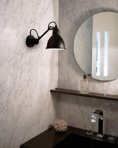 BadezimmerWandlampe N 304 mit Kugelgelenk  Casa Lumi