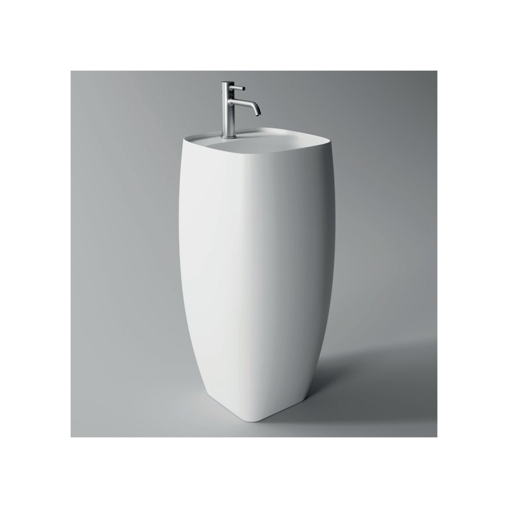 lavabo colonne nur freestanding plan 16 couleurs ref 33150101