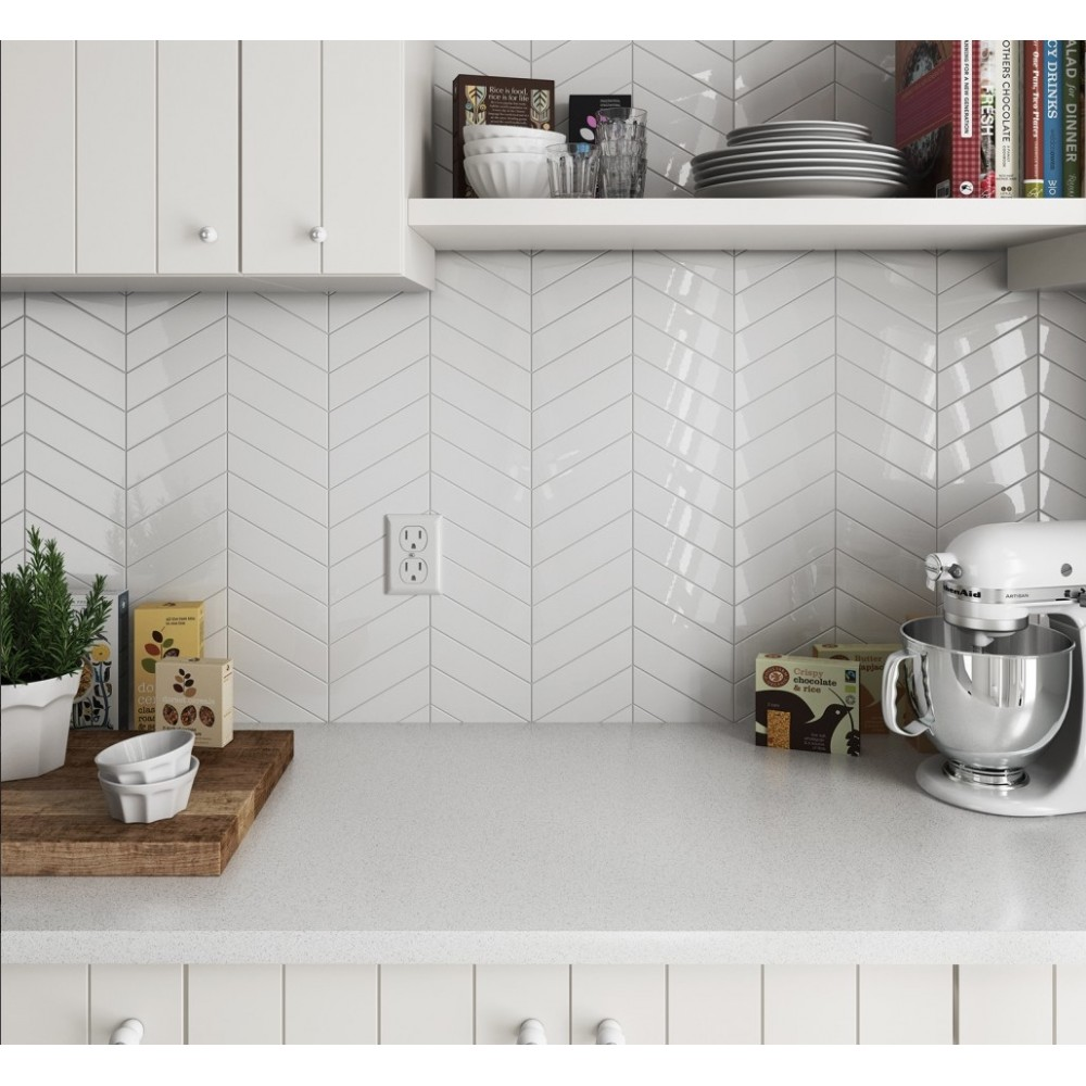 Carrelage Mural Faence Scale Chevron Wall 8 Couleurs