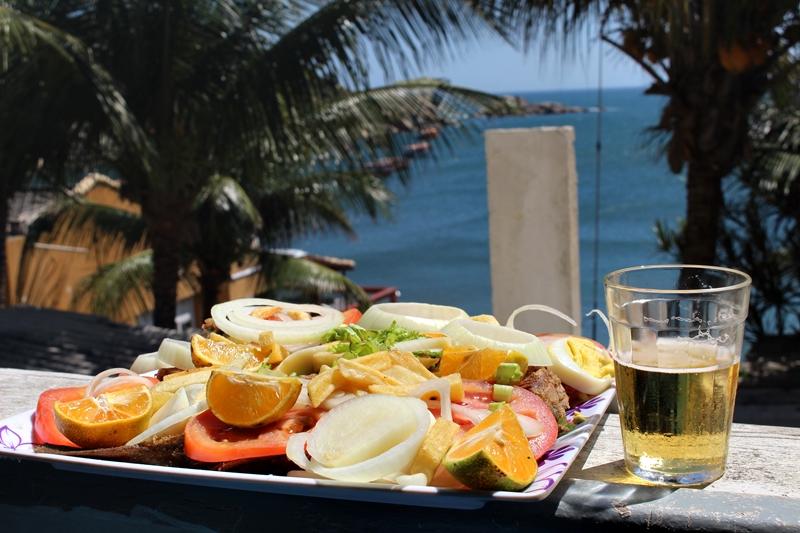 Almoço no Bar Xodó da Barra