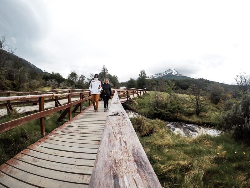 Brasileiros em Ushuaia Mega Tour Verao