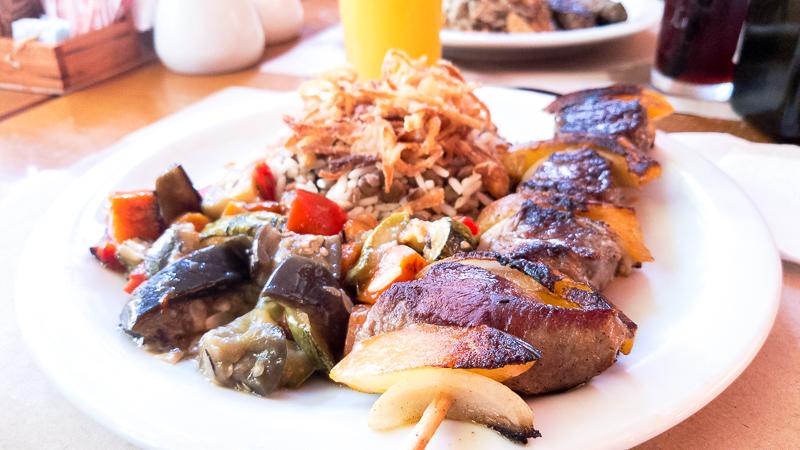 Restaurante Árabe na Gávea