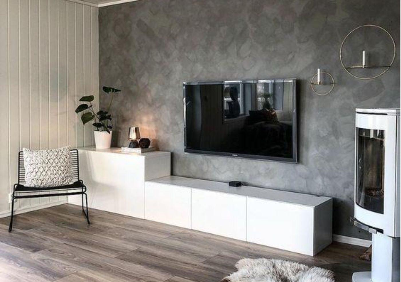 """L'obiettivo è quello di rendere gli ambienti della casa moderna più """"leggeri"""" Pitture Decorative Per Interni Come Abbellire Casa Magazine"""