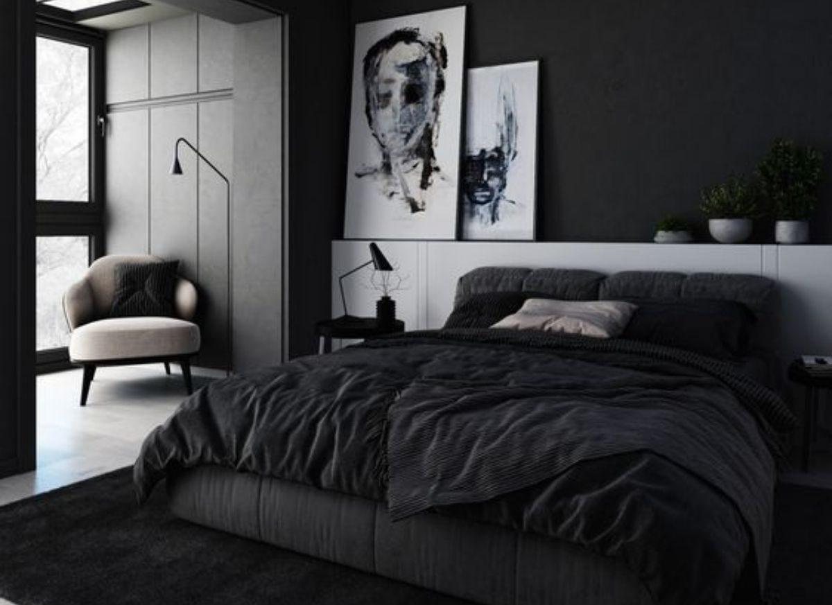 La camera da letto è uno degli ambienti della casa dove ci si può divertire di più nella scelta dei colori per imbiancare casa idee. Idee Per La Camera Da Letto Nera Come Creare Profondita Casa Magazine