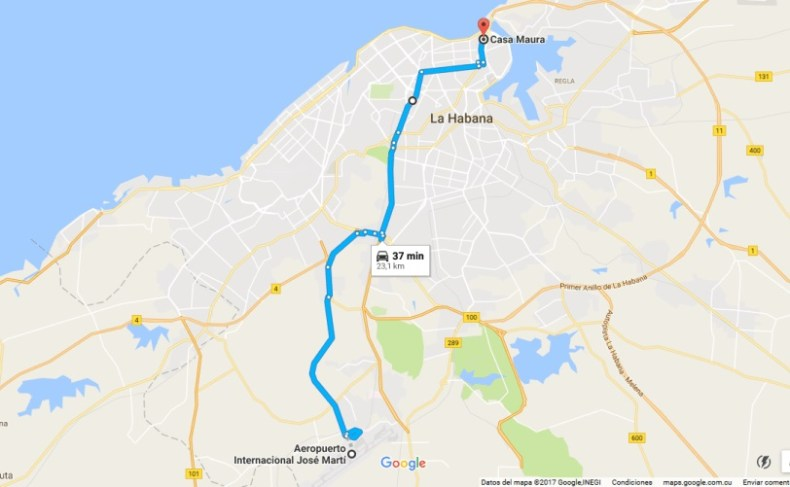 mapa aeropuerto