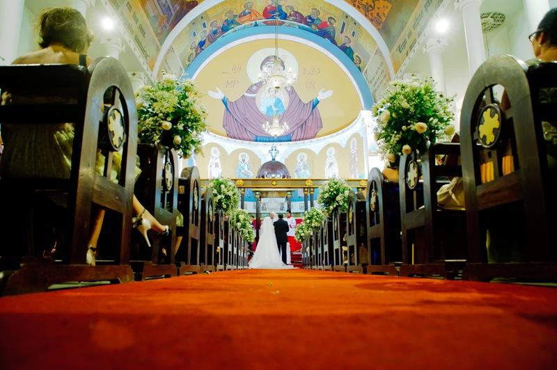 Casamento Natália & Rafael. Igreja: Paróquia Nossa Senhora do Líbano. Foto: Samuel Gomes.