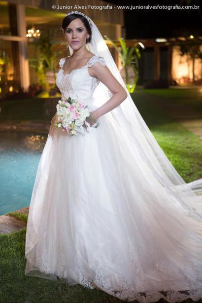 Vestido de noiva Maison Cris.